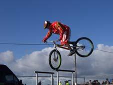 Mountain Bike Stunt Riding