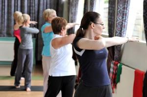 Practising Dru Yoga